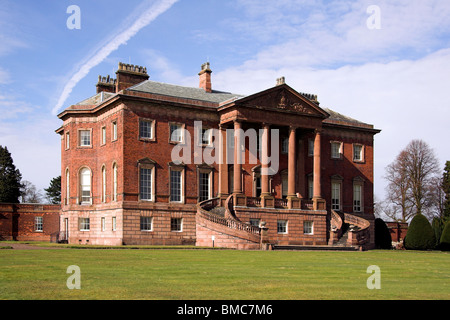 Tabley House, Knutsford, Cheshire, UK - Stock Photo