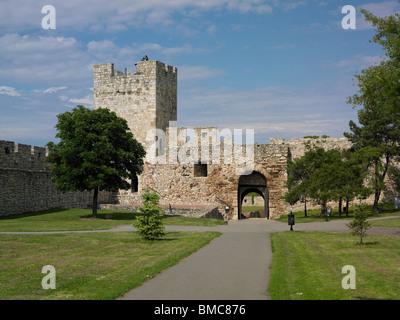 Fortress Kalemegdan, Belgrade, Capital of Serbia - Stock Photo