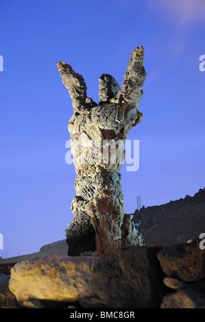 Monument El Atlante in Las Palmas de Gran Canaria, Spain - Stock Photo