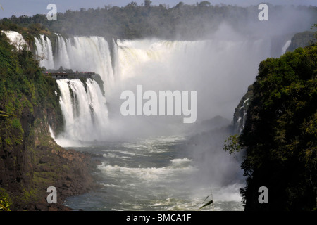 Salto Floriano, Iguassu falls, Iguazu national park, Puerto Iguazu, Brazil side taken from Argentina