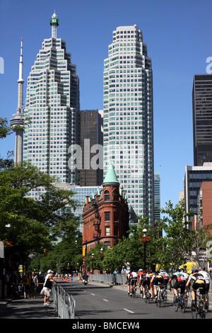 Toronto Criterium Bicycle Race, 2010 - Stock Photo