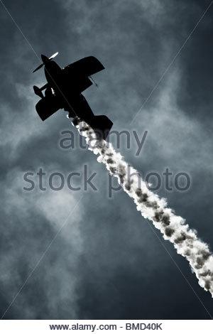 Oracle Challenger Ii Stunt Biplane On Runway At Eaa Air ...