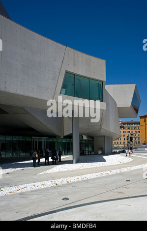 MAXXI National Museum of the 21st Century Arts, Rome, Italy - Stock Photo