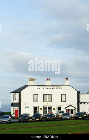 Causeway Hotel, Bushmills, County Antrim, Northern Ireland - Stock Photo