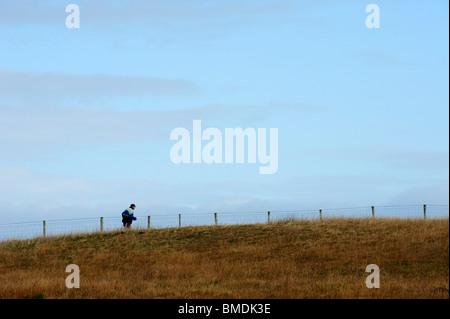 Causeway Coast Marathon, Bushmills, County Antrim, Northern Ireland - Stock Photo