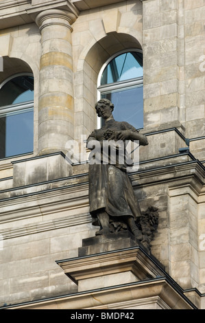 Franzosischer Dom 'French Cathedral' in Berlin - Stock Photo