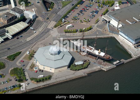 discovery point dundee - Stock Photo