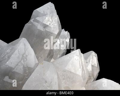 Close up on a quartz rock. - Stock Photo