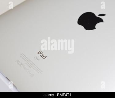 Apple iPad, TouchscreenTablet Computer, Book Reader, Digital Ebook, Modern, Logo, Brand, Luxury - Stock Photo