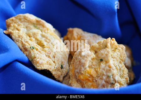 Savory Herb Scones - Stock Photo