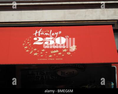 Hamleys 250th Anniversary Toys Shop - Stock Photo
