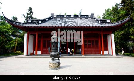 Memorial Hall Of Yue Fei, Hangzhou City, Zhejiang Province, China - Stock Photo