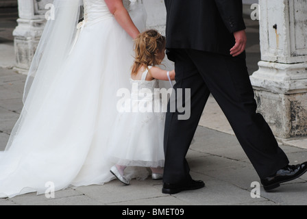 Wedding in Venice, Italy - Stock Photo