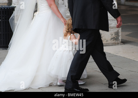 Wedding in Venice - Stock Photo
