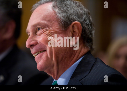 New York City Mayor Michael Bloomberg - Stock Photo