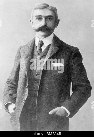Undated photo of Baron Pierre de Coubertin (1863 - 1937) - founder of the IOC and 'father' of the modern Olympic - Stock Photo