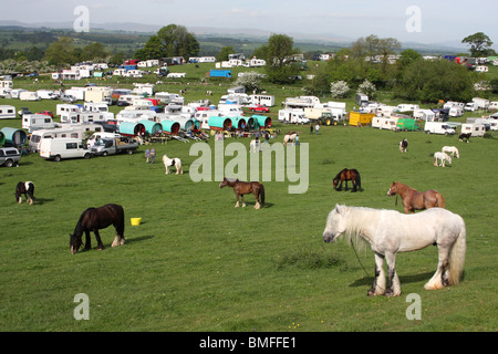 Appleby Horse Fair, Appleby-In-Westmorland, Cumbria, England, U.K. - Stock Photo