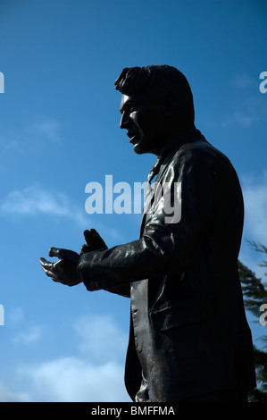 A statue of Michael Collins, by Kevin Holland, in Emmet ...