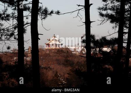 Beishan Park, Jilin, Jilin Province, China - Stock Photo