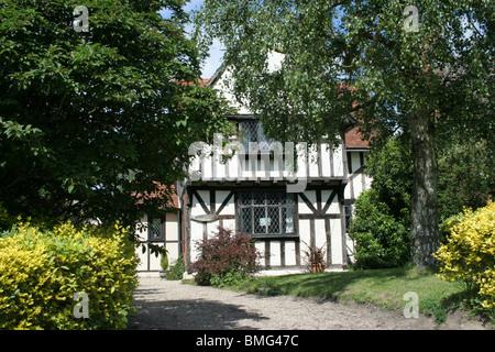 A Tudor Cottage - Stock Photo