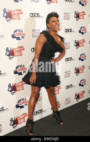 Alexandra Burke at Capital Radio's Summertime Ball at Wembley Stadium - Stock Photo