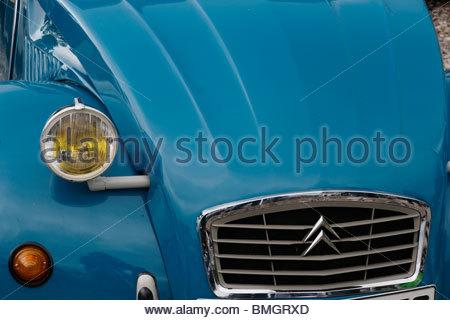 Old Citroen C2V - Stock Photo