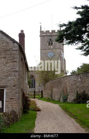 Stonesfield church in Oxfordshire. - Stock Photo