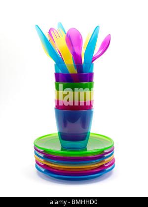 Plastic cookware - Stock Photo