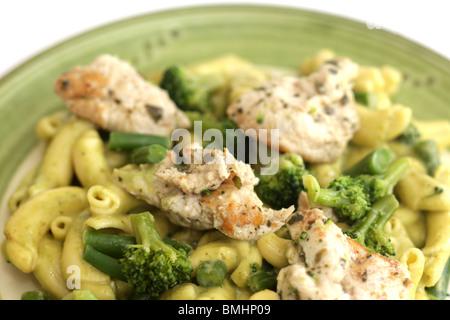 how to make creamy basil pasta