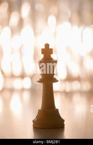 King chess piece - Stock Photo