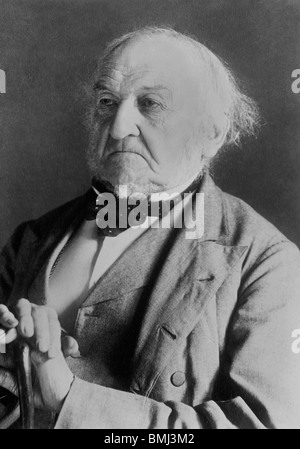 Photo c1880s of William Ewart Gladstone (1809 - 1898) - a Liberal Party statesman who was UK Prime Minister on four - Stock Photo
