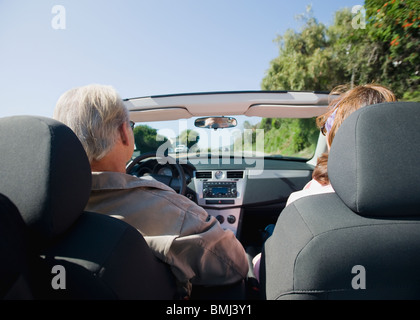 Couple on road trip - Stock Photo