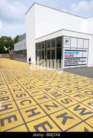 Berlinische Galerie modern art museum in Mitte Berlin Germany - Stock Photo