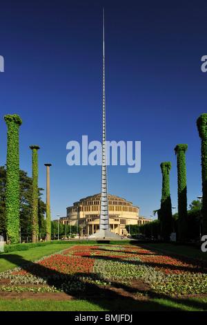 Wroclaw, Centenary Hall, Jahrhunderthalle, Unesco, wroclaw, uefa, euro 2012 - Stock Photo