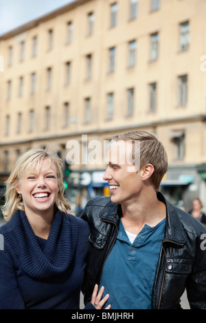 Together in the city - Stock Photo