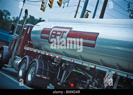 Large industrial oil tanker. - Stock Photo