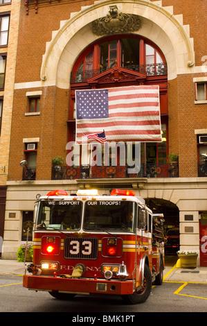 New York Ny Exterior Of Engine Company 44 Fdny Located