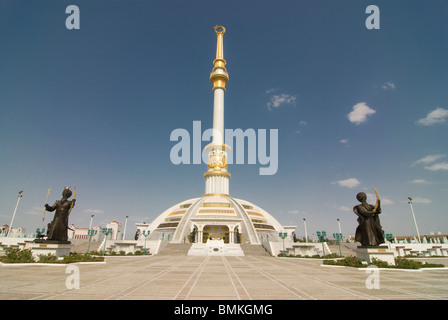 Monument of the Independence of Turkmenistan, Ashgabad - Stock Photo