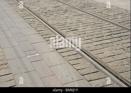 Orleans, Tramway - Stock Photo