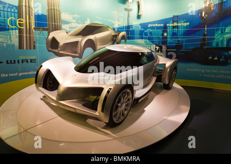 Kissimmee, FL - Jan 2009 - GM Concept car model at Walt Disney's Epcot Center in Orlando Kissimmee Florida - Stock Photo