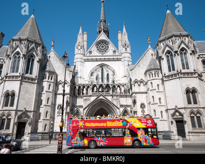 Royal courts of Justice London, England - Stock Photo