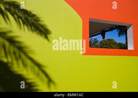 Mauritius, Western Mauritius, Tamarin, Palm Shadows, Tamarin Hotel - Stock Photo