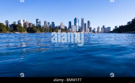 Brisbane panoramic cityscape - Stock Photo