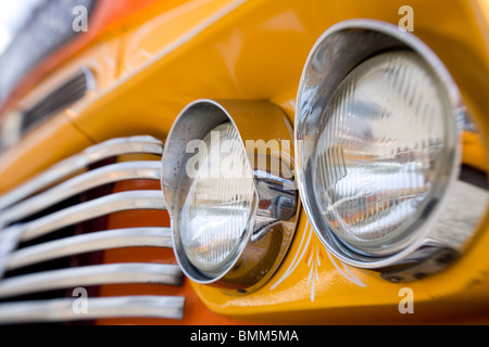 Detail of a bus in Malta - Stock Photo