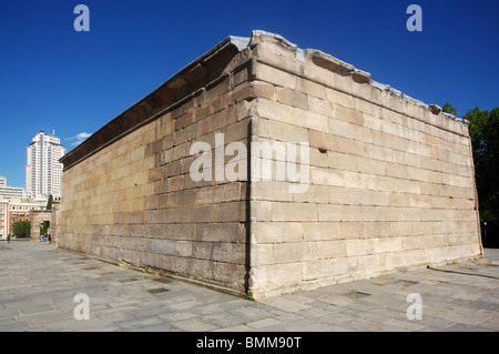 Temple of Debod, Parque del Oeste, Madrid, Spain - Stock Photo