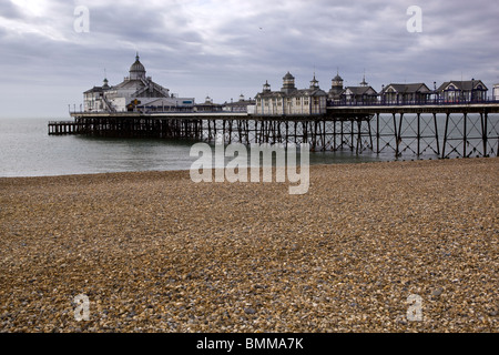 Eastbourne Pier East Sussex England UK - Stock Photo