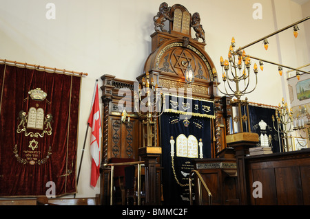 The Kiever Synagogue in Toronto's Kensington Market is one of two remaining synagogues in what was once a Jewish - Stock Photo
