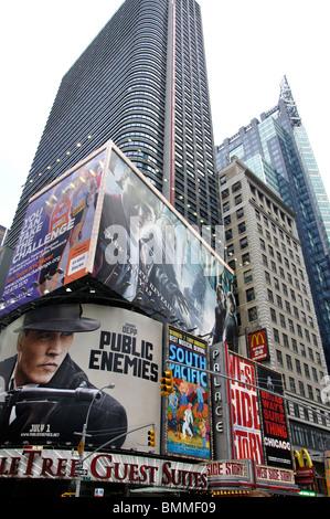 Times Square, New York City, USA - Stock Photo