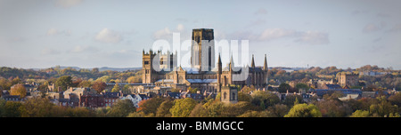 Durham Skyline - Stock Photo