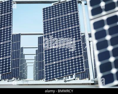 Solar power station front panels